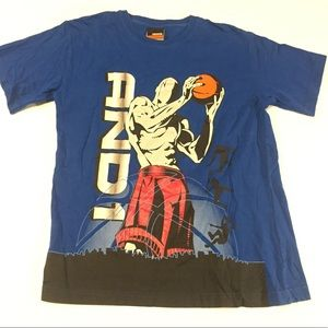 Official Vintage And 1 Basketball Graphic T-Shirt